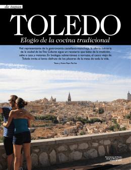 Toledo, elogio de la cocina tradicional.
