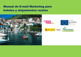 Manual de E-mail Marketing para hoteles y alojamientos rurales