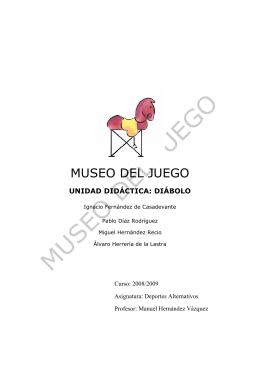 ud: diábolo - Museo del Juego