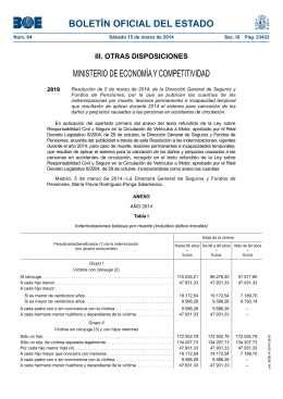 Disposición 2819 del BOE núm. 64 de 2014