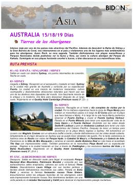 Australia. Tierra de los Aborigenes. P80