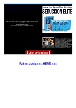 arte de la seduccion pdf secretos de un