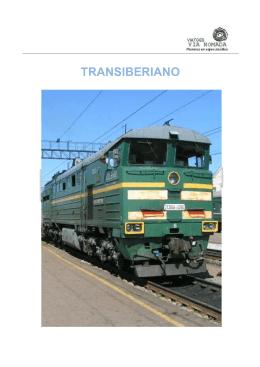 Itinerario y horarios del Transiberiano