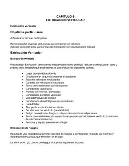 Manual de Rescate Urbano Basico Cap VI