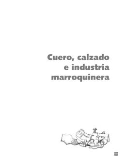 Cadena Cuero, Calzado e Industria Marroquinera