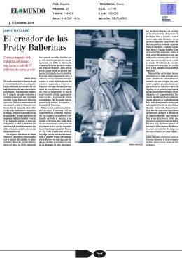 El creador de las Pretty Ballerinas