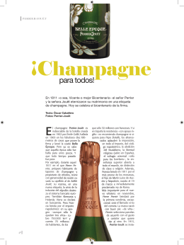 Champagne para todos