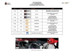 CSIO BARCELONA 10_Retransmisiones