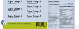 Super Omega 3 Super Omega 3 Super Omega 3 Super