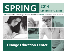Orange Education Center - Santiago Canyon College