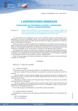 Orden DES/77/2010 - Boletín Oficial de Cantabria