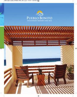PDF - Pueblo Bonito Oceanfront Resorts & Spas