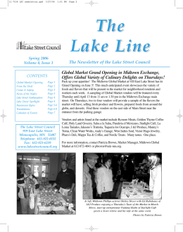 Spring 2006 - Lake Street Council