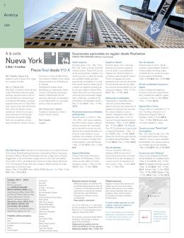 Nueva York Nueva York