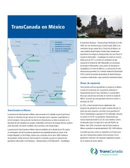 TransCanada en México