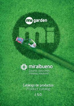 Catálogo MiGarden 2015