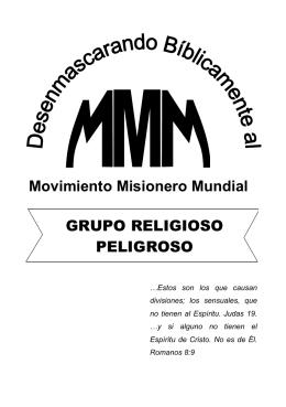 "articulo completo aqui - Iglesia Evangélica Peruana ""El Tingo"""