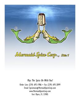 Mermaid Spice Corp . , I nc. 1