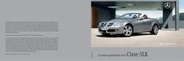 La nueva generación de la Clase SLK - Mercedes-Benz
