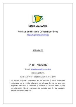 Televisión y memorias sobre la violencia - Hispania Nova