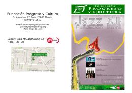 Programa de Concierto - Portal Progreso y Cultura