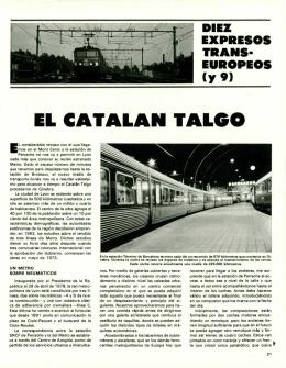 EL CATALAN TALGO
