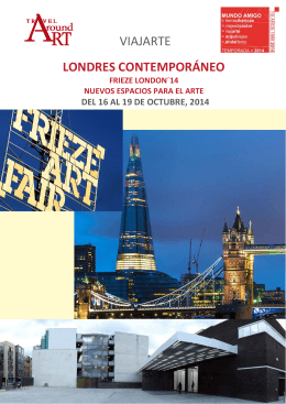 VIAJARTE LONDRES CONTEMPORÁNEO