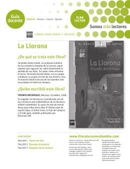 La Llorona - Literatura SM Colombia