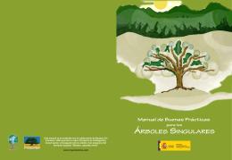 ÁRBOLES SINGULARES Manual de Buenas Prácticas
