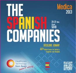 Catalogo FENIN - MEDICA 2013 - Volver a Tecnologías Sanitarias