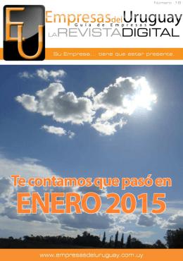 revista - Inicio - Empresas del Uruguay