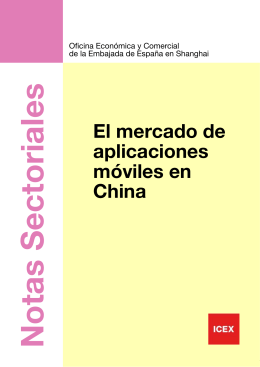 CHINA Mercado de Aplicaciones Móviles