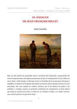 EL ÁNGELUS DE JEAN FRANÇOIS MILLET
