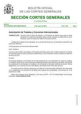 Convenio entre el Reino de España y el Principado de Andorra para