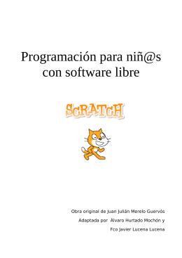 Programación para niñ@s con software libre