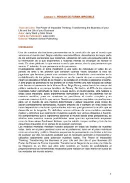 Lectura 1 - Universidad del Rosario