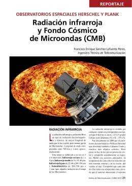Radiación infrarroja y Fondo Cósmico de Microondas (CMB)