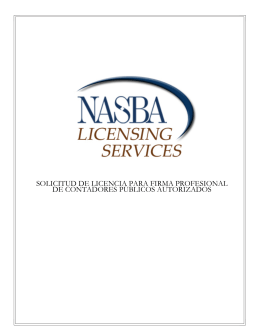 solicitud de licencia para firma profesional de contadores