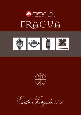 Catálogo Emilio Tortajada Catálogo herraje forja artesanal