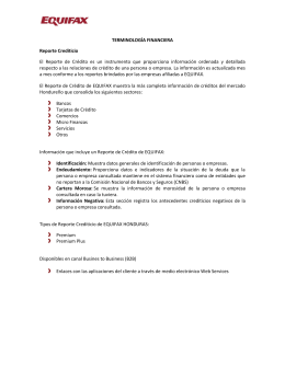 Ayuda - Equifax