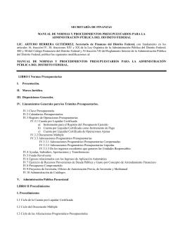 Impreso - Secretaría de Finanzas del DF