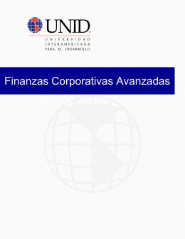 Finanzas Corporativas Avanzadas