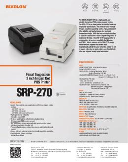 SRP-270 Spooler