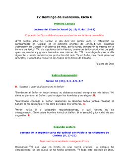 IV Domingo de Cuaresma, Ciclo C. San Lucas 15, 1–3. 11–32: Este