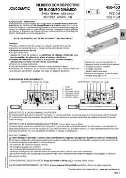 cilindro con dispositivo de bloqueo dinámico
