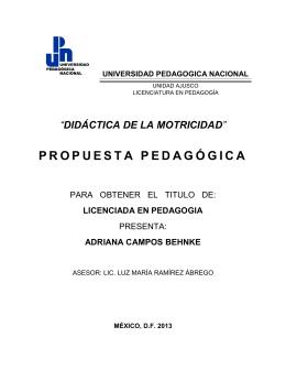Didáctica de la motricidad - Biblioteca Gregorio Torres Quintero