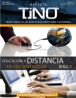 Revista Tino Número 37 - Joven Club de Computación y Electrónica