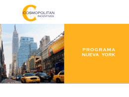 PROGRAMA NUEVA YORK - Cosmopolitan Incentives