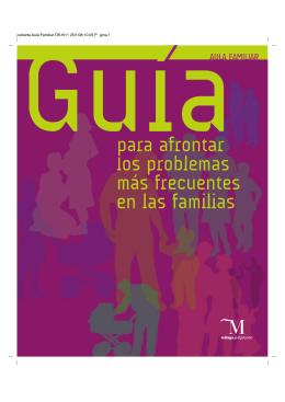 Guía para afrontar los problemas más frecuentes en las familias pdf