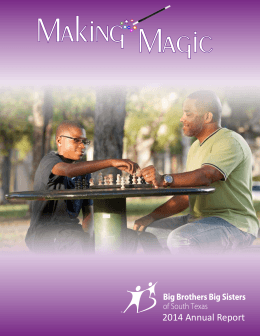 2014 Annual Report - Big Brothers Big Sisters of South Texas